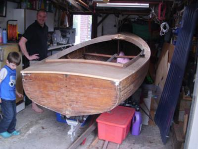 Identification and Restoration of a Wooden Boat (by a complete beginner)