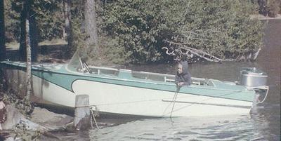 c1961 at Detroit Lake, Oregon