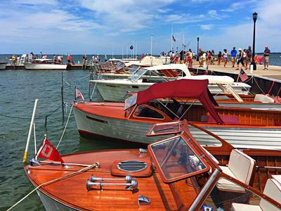 2019 Lakeside Wooden Boat Show Plein Air Art Festival