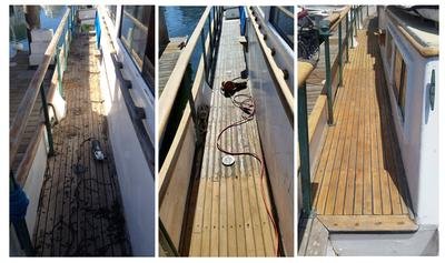Replacing Caulk on Decks