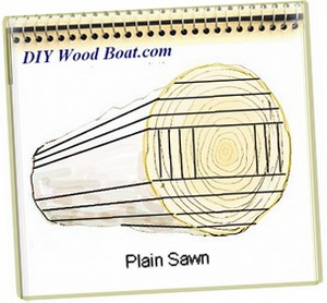Plain Sawn Timber