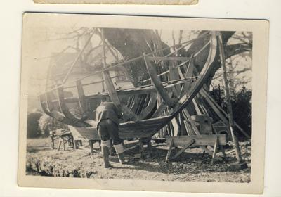 boat framework
