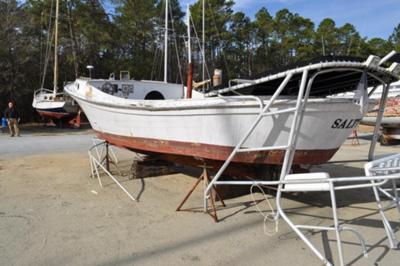 Harkers Island Net Boat.