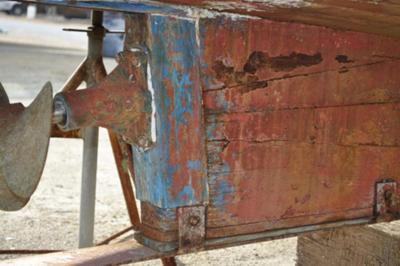 Rudder and Wheel