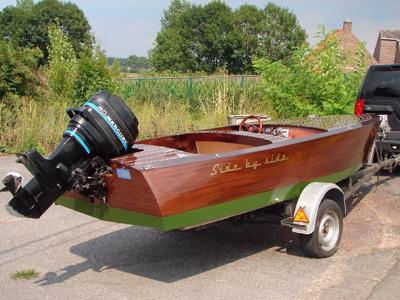 Side By A Mahogany Runabout