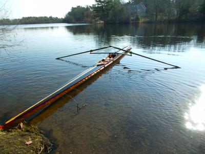 "Single scull ""Boanne"""