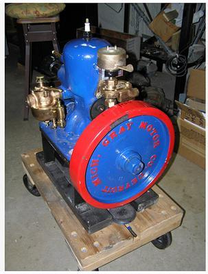 gray marinf engine