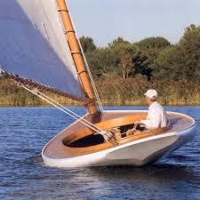 Skin on frame catboat?