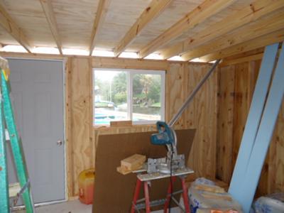 Room addition upper deck