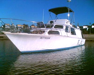 Hartley Flybridge Cruiser