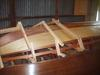 planks steamed into place