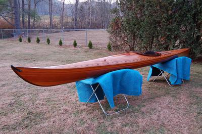 Western Red Cedar Strip Kayak