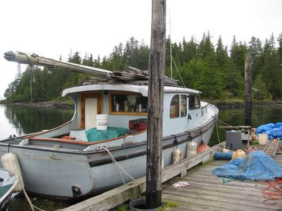 1948 wood sloop