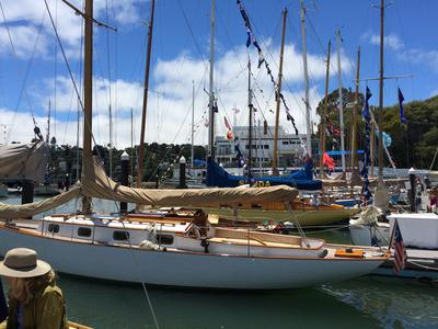 Wooden Boat Show at Corinthian Yacht Club