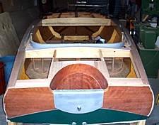 plywood on frame boat
