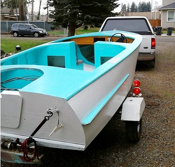 1962 Chris Craft Ski Boat 16