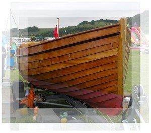 Lapstrake/Clinker Wooden Boat