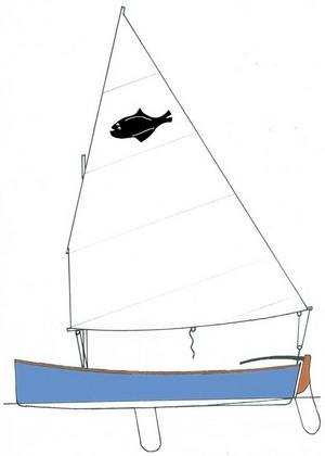 Sail'n'Oar Flattie Skiff