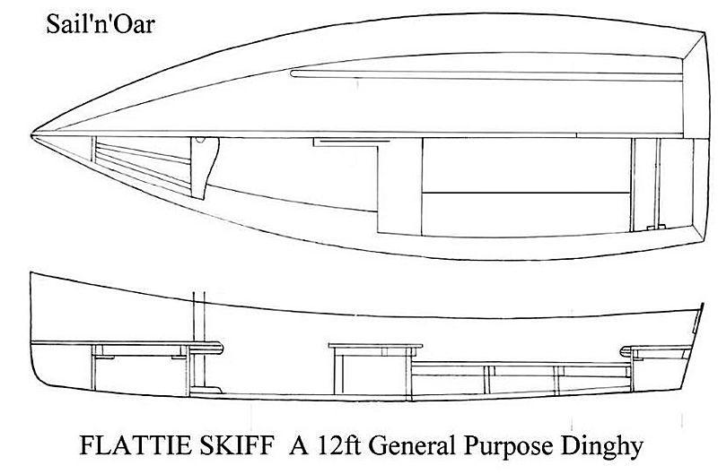 Flattie Skiff