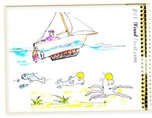 Keel Bolt Cartoon