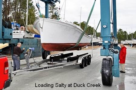 loading salty at duck creek