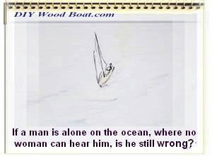 Crusing Man Alone Cartoon