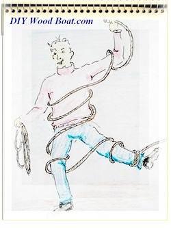 Rope Cartoon