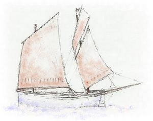 Traditional Dipping Lugger