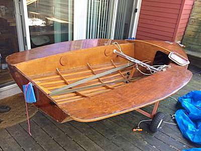 plywood boat that my father built in the 1960's.