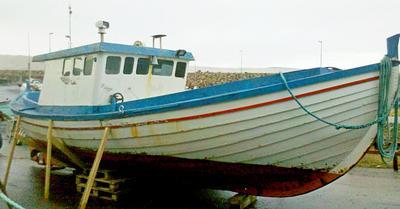 faroese fishing boat