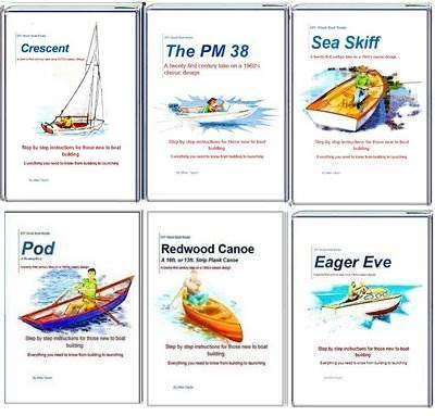 DIY Boat Building Books