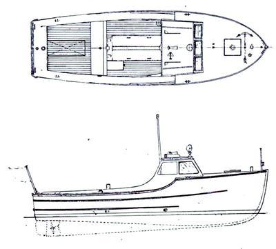 30ft coast guard rescue boat