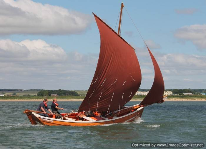 Bridlington - Sailing Coble Festival - Madeleine Isabella, photo by Paul L Arro