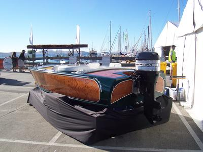 At The Australian Wooden Boat Festival