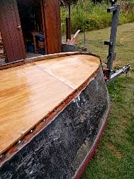 15ft sailing dinghy designed by the famous Ed Monk