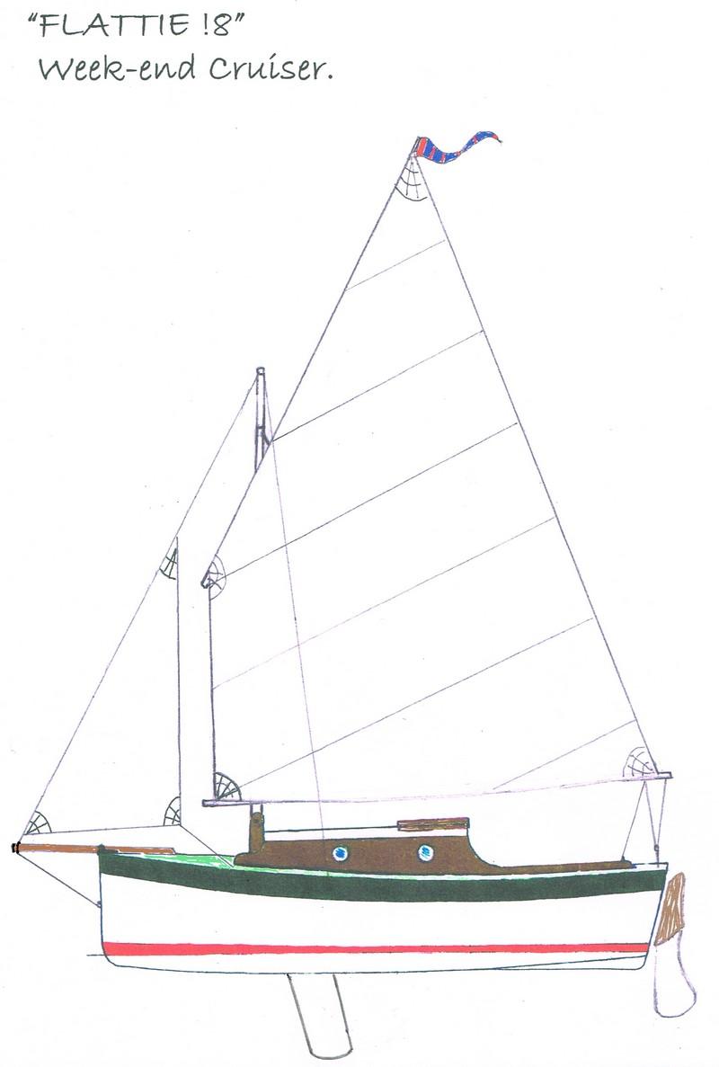 design for an 18ft trailer/sailer for DIY builders