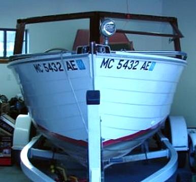 1962 Chris Craft Sea Skiff <i>Melody</i> before