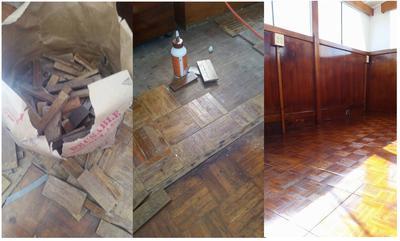 Repairing and REfinishing Parquet Floors
