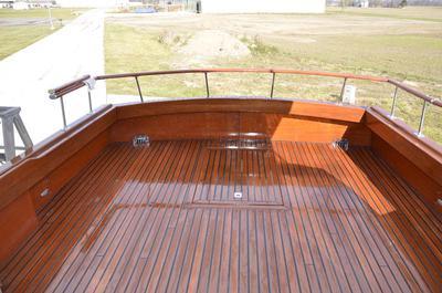 Black Walnut Wood Deck