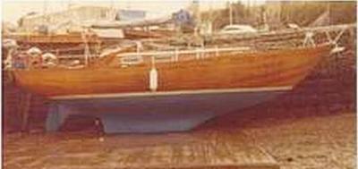 Yacht SKO Classic Sailing Boat